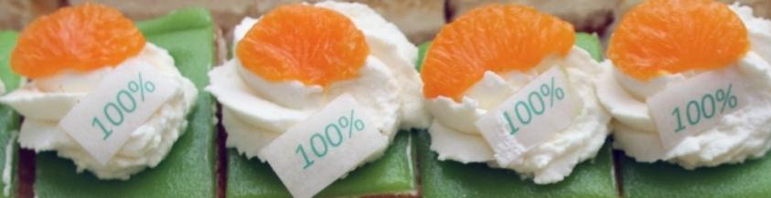 <div style='color: #000;'>We voldoen aan de eisen voor de voedselveiligheid </div><div style='color: #d9782d;'>dus: '100% groen'</div>