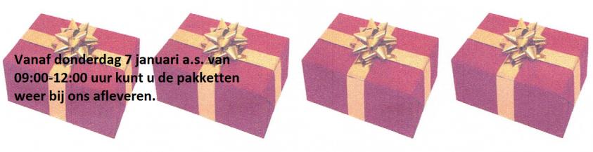 <div style='color: #000;'>Kerstpakket over?</div><div style='color: #d9782d;'>Wij zijn er blij mee!</div>